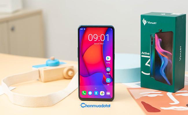 Vsmart Active 3 - Điện thoại Việt giá rẻ có màn hình đẹp và camera khủng