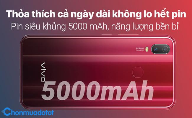 Viên Pin 5000mAh siêu khủng