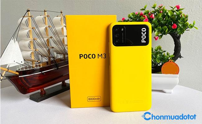 Poco M3 - Điện thoại Xiaomi mới nhất