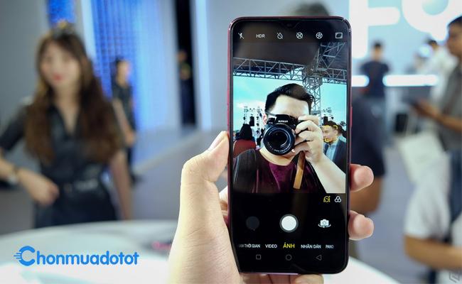Chụp selfie của tất cả các dòng Oppo rất ấn tượng